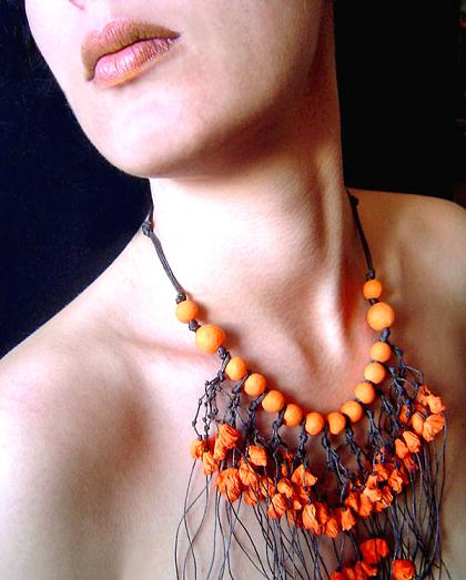 Paper Jewellery Necklace Paper Necklace