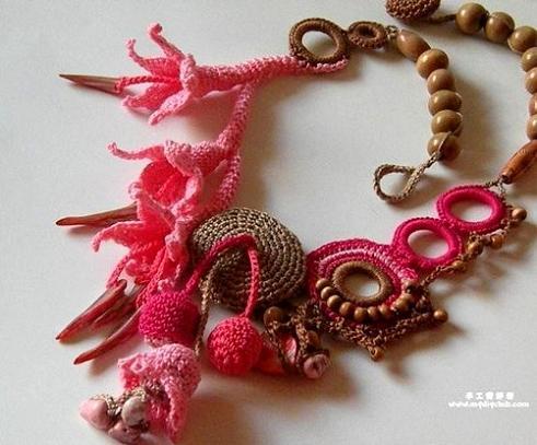 Free Crochet Jewelry Patterns - Crochet Necklaces