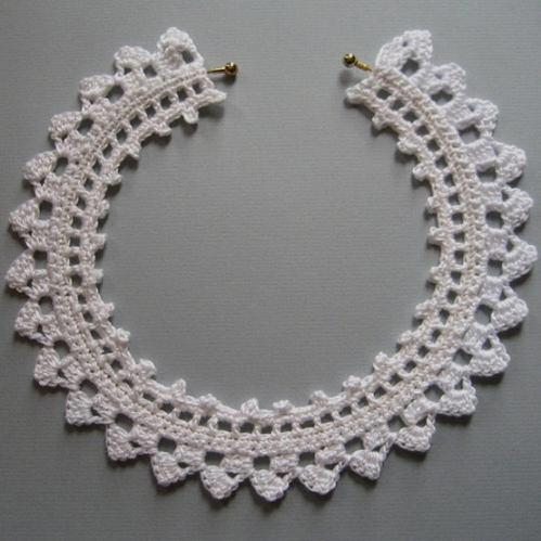 Crochet Stitches Jewelry : CROCHET CHOKERS PATTERNS FREE CROCHET PATTERNS