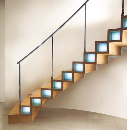 Creative Staircase Design Ideas: Creative Wooden Staircase Designs For Homes