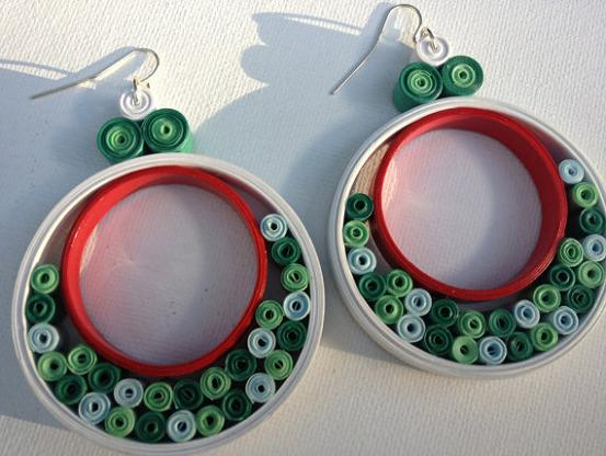 quilling-earrings