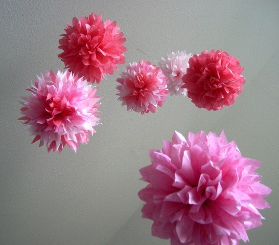Diy Tissue Paper Flower Making Tutorial and Ideas