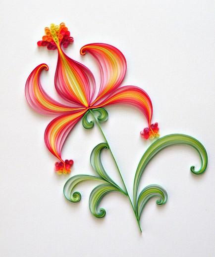 Paper Quilling Patterns Designs
