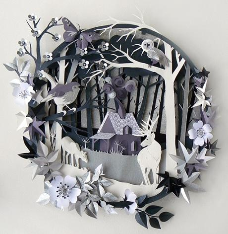 3d paper cutting designs and ideas life chilli - Colored paper art projects ...