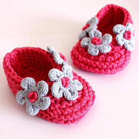 Cowboy Baby Crochet Booties - The Crochet Crowd