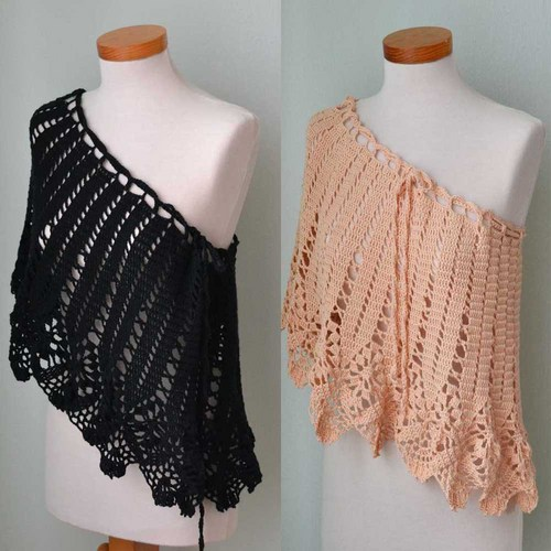 crochet-poncho-designs