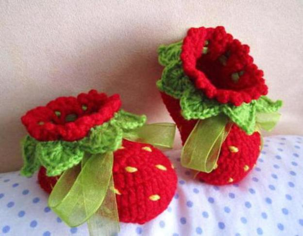 crochet-baby-booties-easy