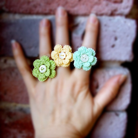 Crocheting Rings : Crochet Ring Patterns And Ideas For Beginners - Life Chilli