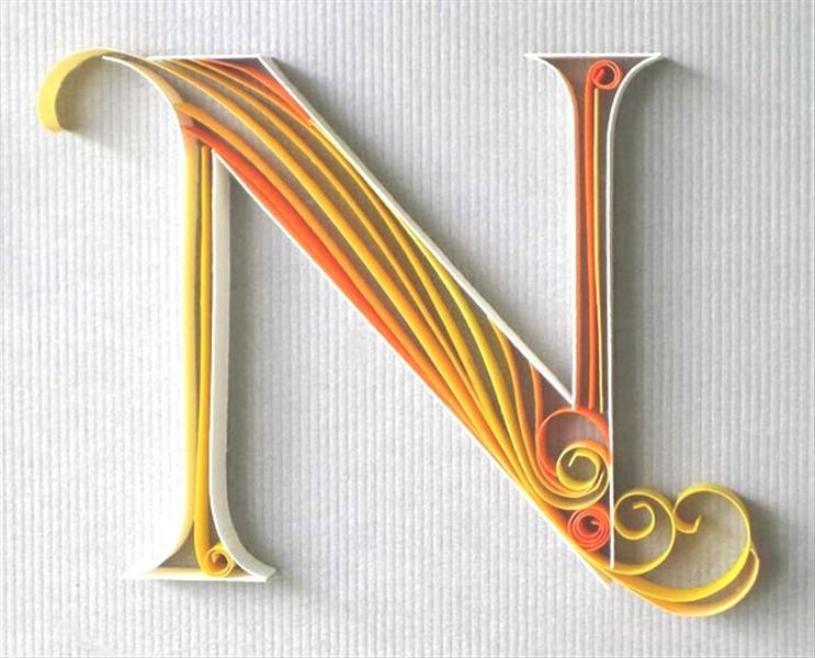 Pin Alphabet Quilling And Paper Art on Pinterest