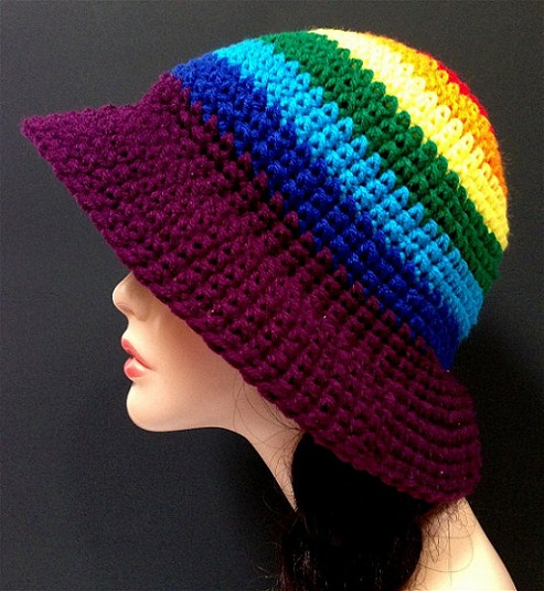 Pattern To Crochet A Hat For Beginners : Crochet Hat Patterns And Designs - Life Chilli