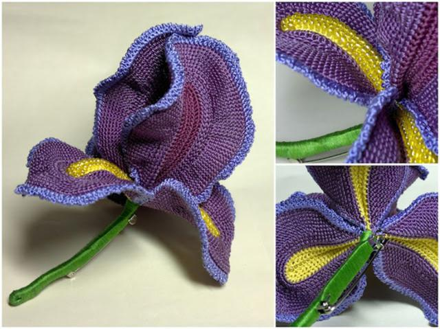 Free Crochet Pattern For Iris Flower : Crochet Braid Hair Crochet For Beginners LONG HAIRSTYLES