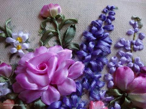How to make silk ribbon flowers images how to make silk ribbon flowers silk ribbon flower embroidery silk ribbon flower embroidery source abuse report mightylinksfo