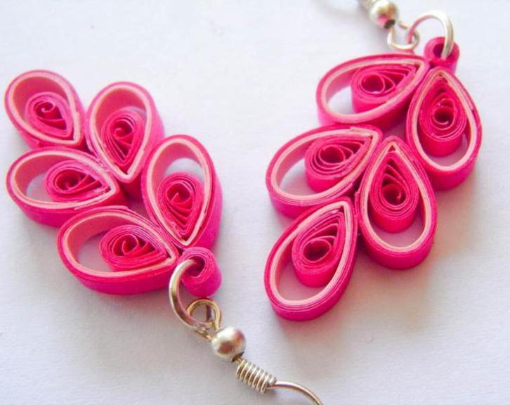 Quilling earrings designs images