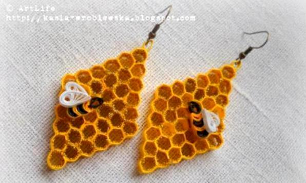 beehive-quilling