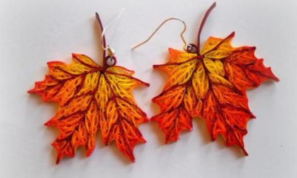 quilling-maple-leaves