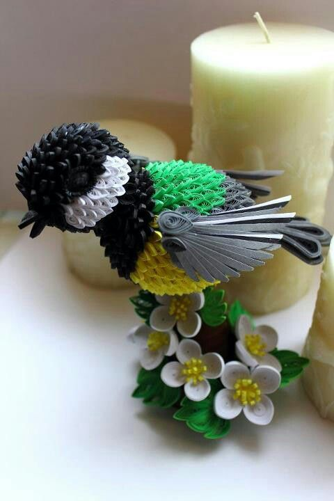 Amazing paper quilling patterns and designs life chilli - Paper Quilling Birds Designs And Ideas Life Chilli