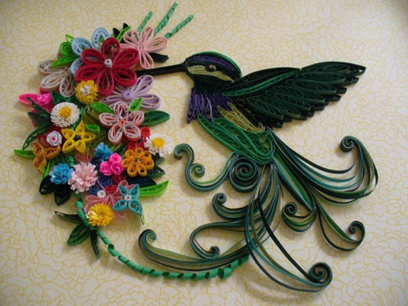 Quilling Patterns Birds Images