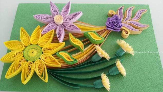 Paper Quilling Cards Designs By Georgia Life Chilli