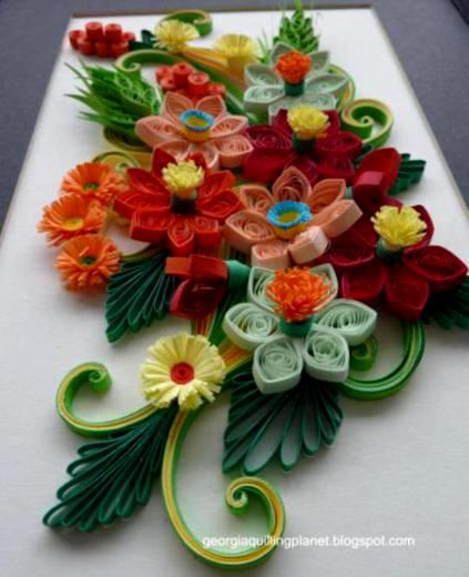 Paper Quilling Flowers Designs Life Chilli