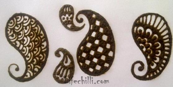 Gallery images and information: How To Draw Mehndi Designs On Paper ... Peacock Pattern Outline