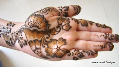 henna designs step by step pdf