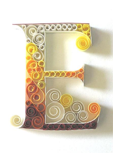 paper-quilling-letter-E Quilling Letter Templates Designs on