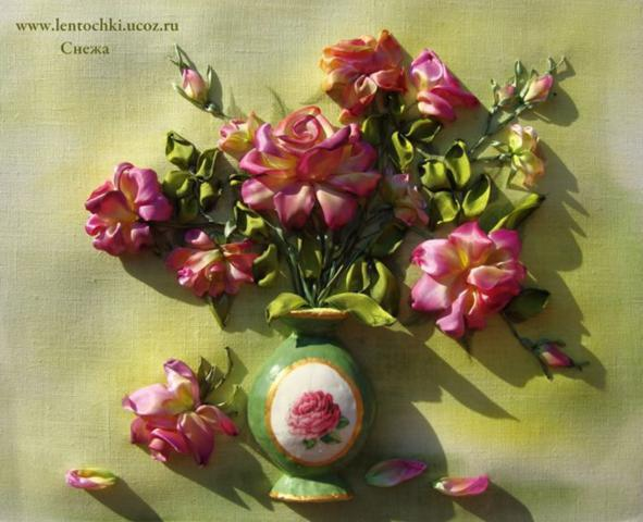 Silk ribbon flower embroidery designs by inessa timonina life chilli mightylinksfo